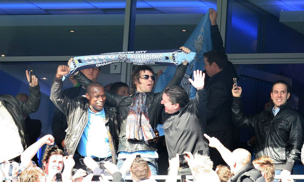 Liam Gallagher promete show na Argentina se Messi for para o City